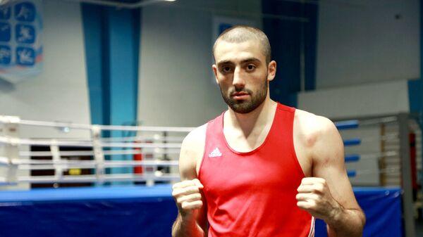 Боксер Георгий Кушиташвили