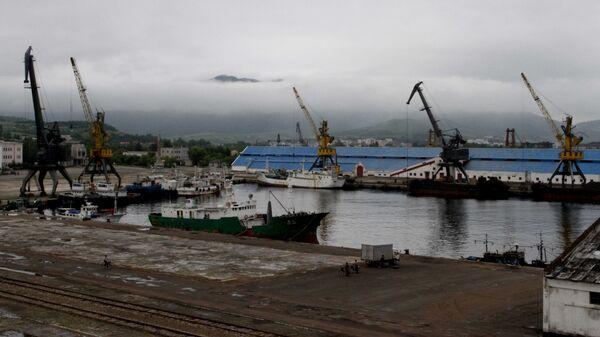 Порт Раджин в Северной Корее. Архивное фото
