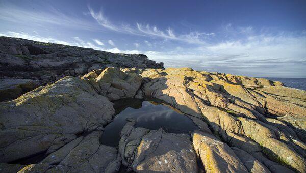 Геологические породы на острове Соммерс