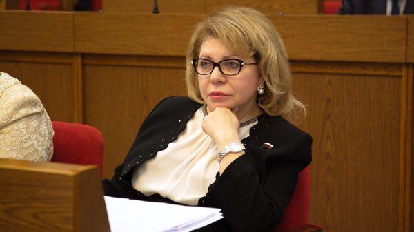 Депутат Госдумы РФ Елена Панина. Архивное фото