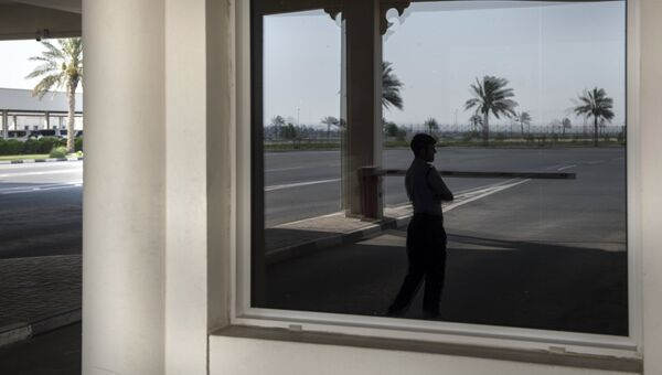 Ситуация на границе Катара с Саудовской Аравией. Архивное фото