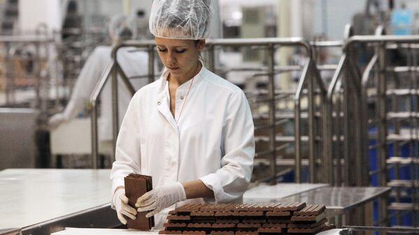 Шоколадная фабрика в России