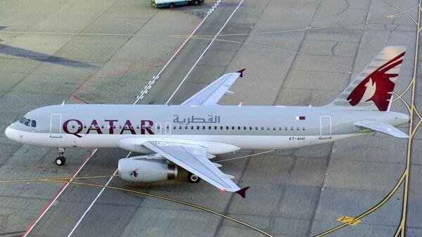 Самолет авиакомпании Qatar Airways. Архивное фото