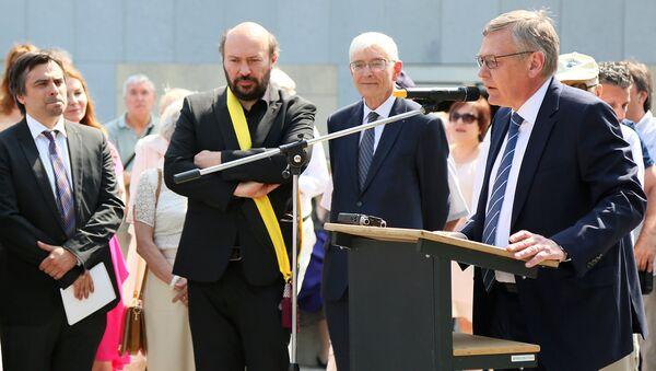 Посол России в Бельгии Токовинин А.A. Архивное фото