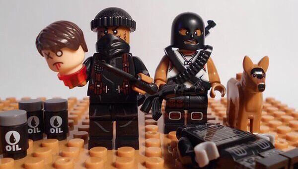 Фигурки боевиков ИГ*