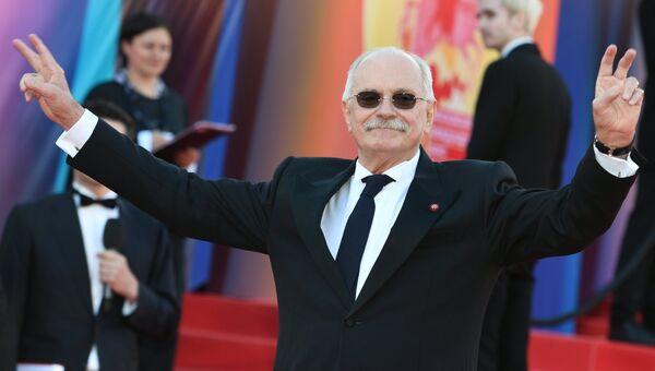 Председатель Союза кинематографистов РФ, режиссер Никита Михалков на церемонии открытия 39-го Московского международного кинофестиваля в Москве