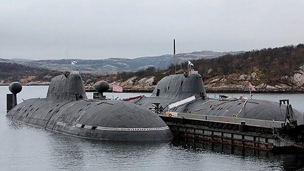 Атомная подводная лодка Обнинск. Архивное фото