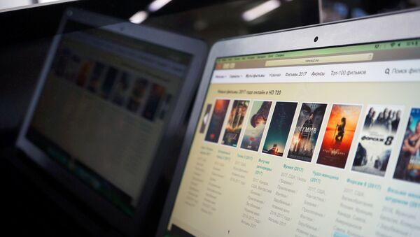 Интернет-сайт с видеоконтентом. Архивное фото