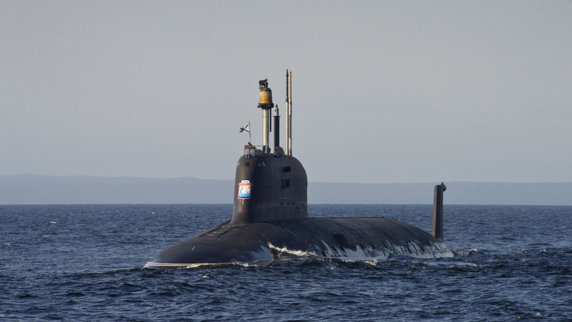 Подводная лодка проекта Ясень-М - РИА Новости, 1920, 25.07.2021