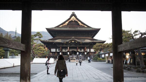 Префектура Нагано в Японии. Архивное фото