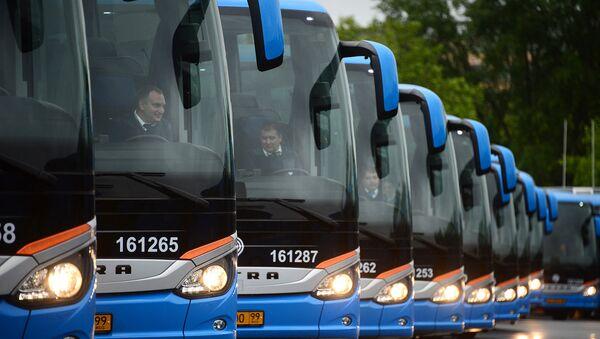 Автобусы ГУП «Мосгортранс». Архивное фото