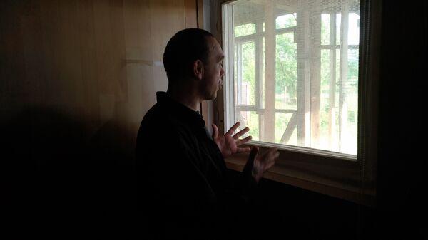 Роман, пациент центра помощи наркозависимым Старый свет, поселок Ерино