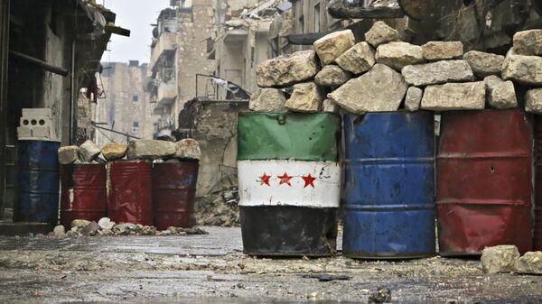 Освобожденный квартал восточного Алеппо. Сирия, 13.12.2016