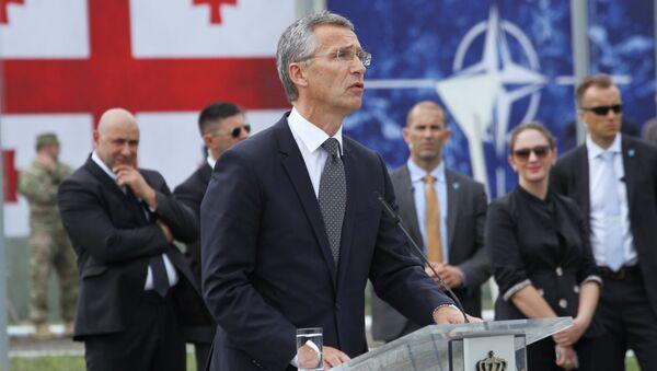 Генеральный секретарь НАТО Йенс Столтенберг  в Грузии