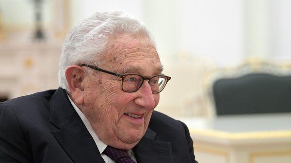 Бывший госсекретарь США Генри Киссинджер. Архивное фото