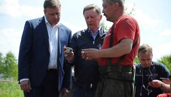 Сергей Иванов принял участие в семинаре авиапоиска Небо Родины