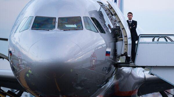 Самолет Airbus A321 авиакомпании Аэрофлот