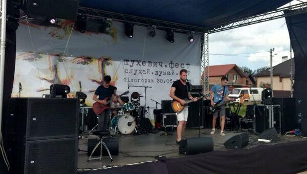Выступление в рамках фестиваля Шухевичфест во Львове