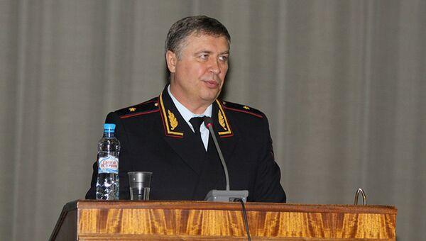 Начальник Контрольно-ревизионного управления МВД РФ Евгений Барикаев. Архивное фото