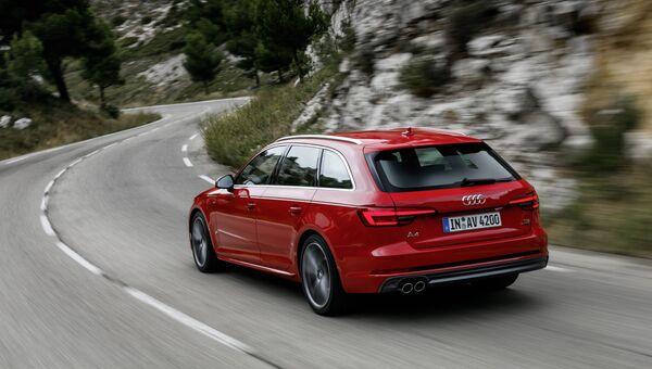 Автомобиль Audi. Архивное фото