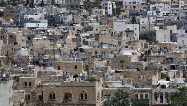 Вид на  Старый город Хеврона. Архивное фото