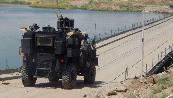 Автомобиль иракских военных в Мосуле. Архивное фото