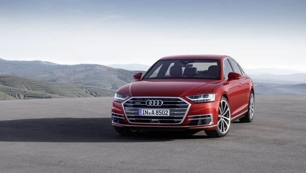 Audi A8. Архивное фото
