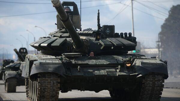 Основные боевые танки Т-90 А