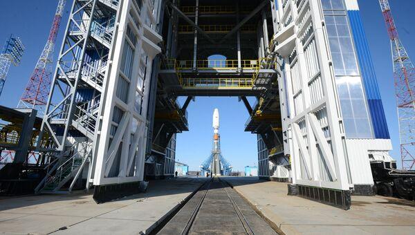 Ракета-носитель Союз-2.1а РКЦ Прогресс. Архивное фото