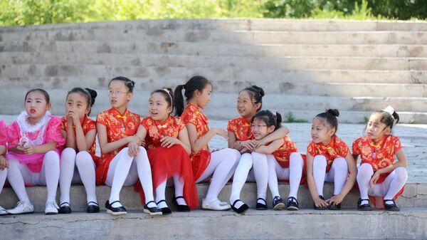Дети в Китае. Архивное фото