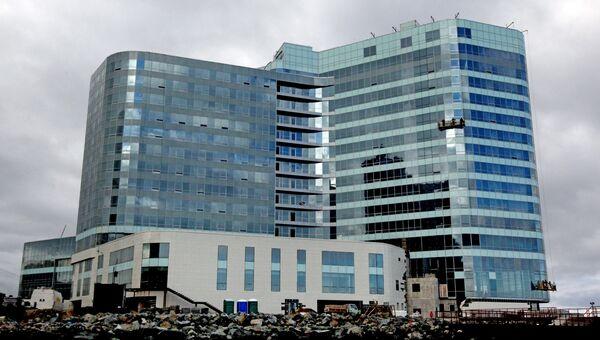 Гостиница Hyatt Regency Vladivostok на мысе Бурный во Владивостоке. Архивное фото