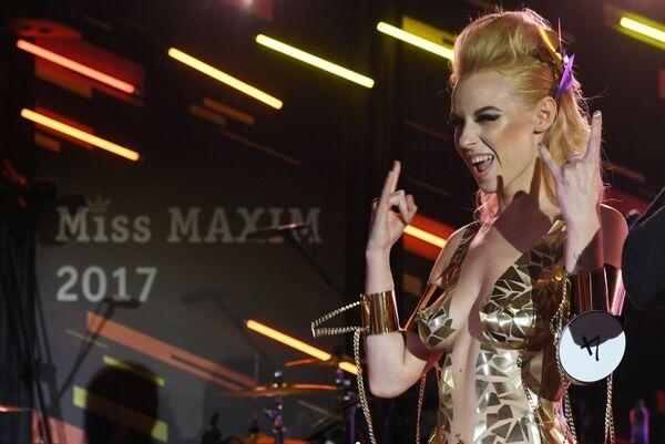 Участница финального ежегодного всероссийского конкурса Miss Maxim 2017 Ульяна Тригубчак (Уфа)