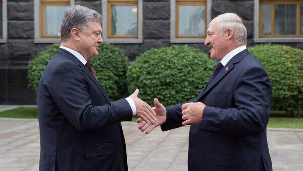 Встреча президентов Украины и Белоруссии Петра Порошенко и Александра Лукашенко в Киеве. 21 июля 2017