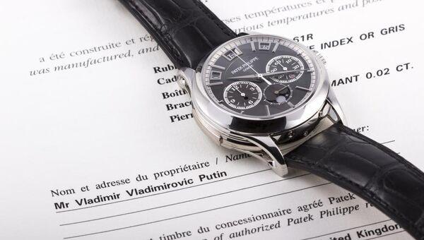 Часы Patek Philippe. Архивное фото