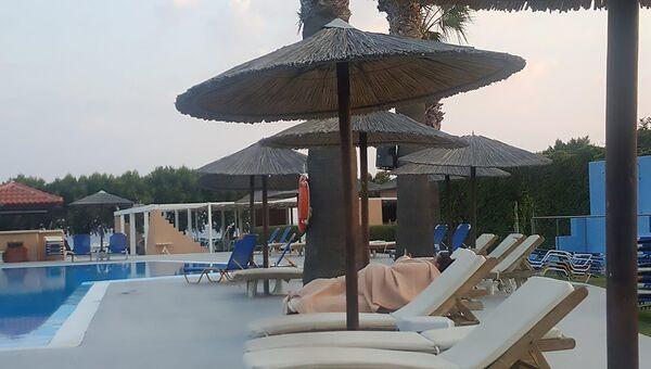Отель Marmara Club-Hotel в городе Бодрум, Турция после землятрясения. 21 июля 2017