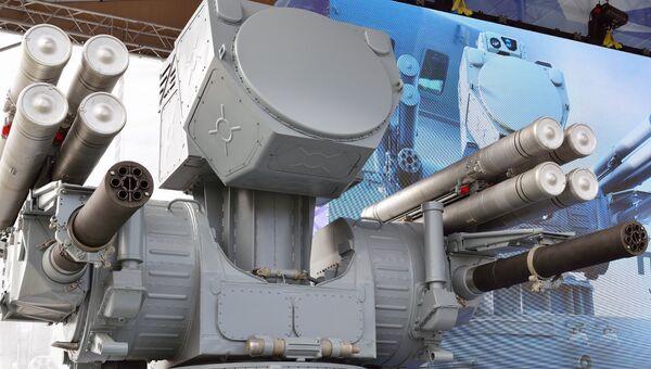 Корабельный комплекс противовоздушной обороны Панцирь-МЕ. Архивное фото