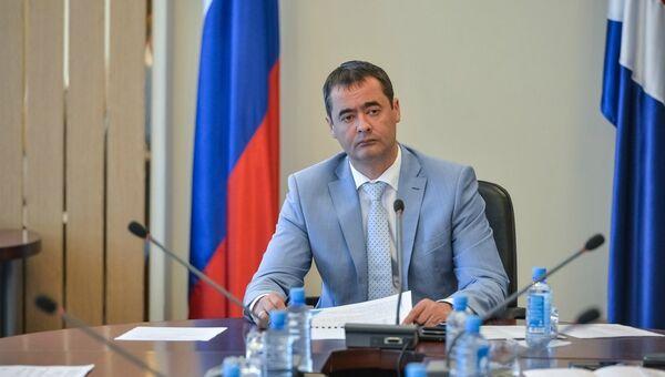 Вице-губернатор Приморского края Вишняков Евгений Витальевич. Архивное фото