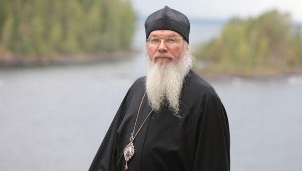 Наместник Валаамского монастыря епископ Троицкий Панкратий