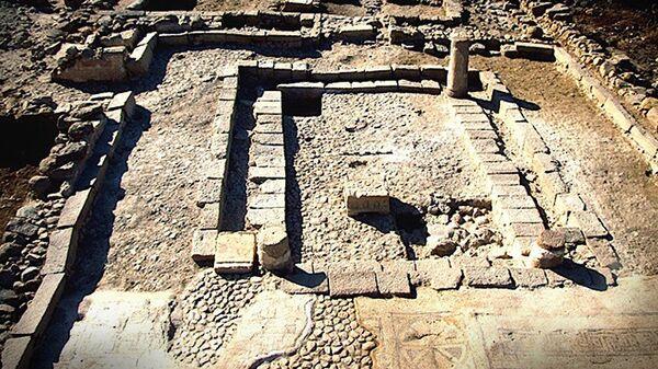 Фундамент старинного здания в Израиле