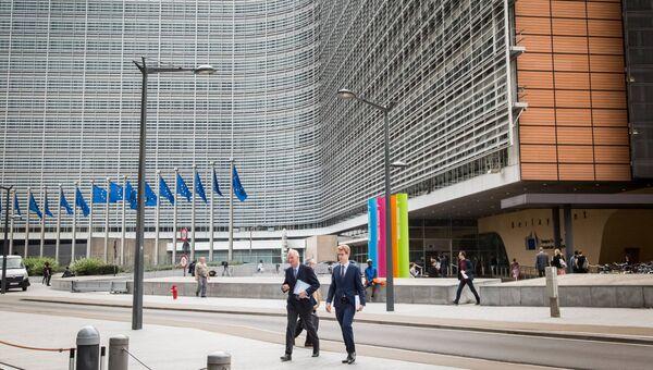 Здание Еврокомиссии. Архивное фото