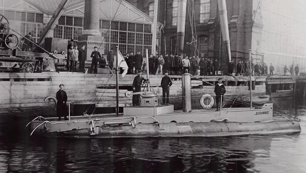 Подлодка Дельфин. Архивное фото