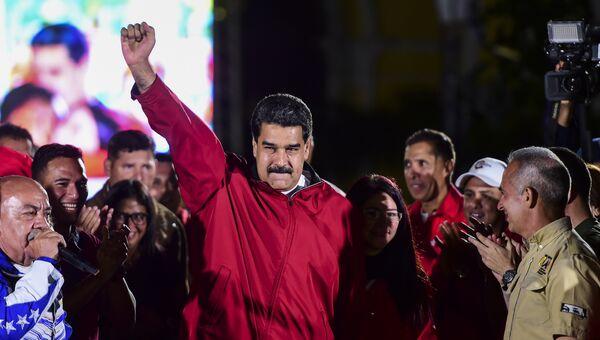 Президент Венесуэлы Николас Мадуро. Июль 2017