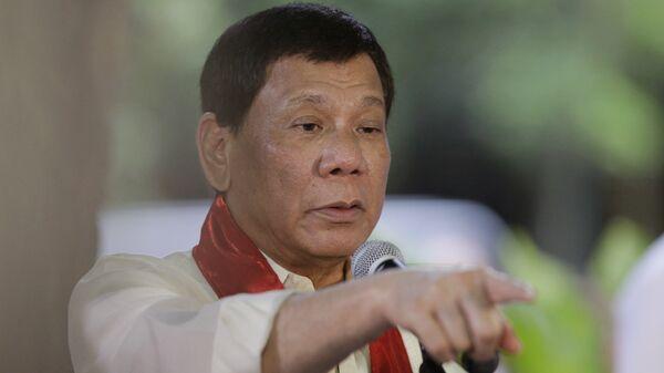 Филиппинский президент Родриго Дутерте