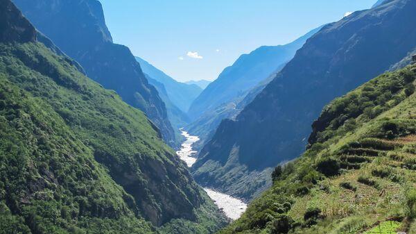 Река Цзиньша в Китае