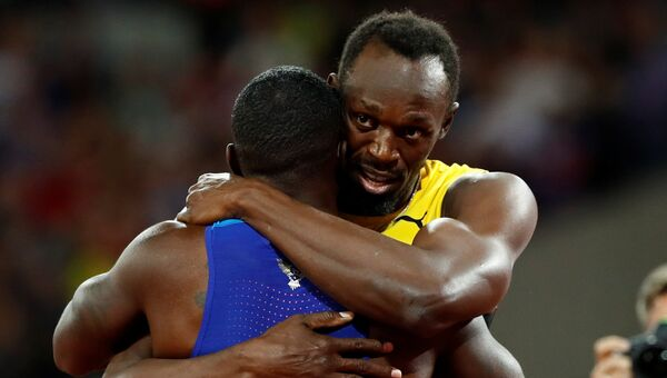 Последний в карьере Усэйна Болта забег на 100 метров, который он проиграл, уступив американцам Джастину Гэтлину и Кристиану Коулману