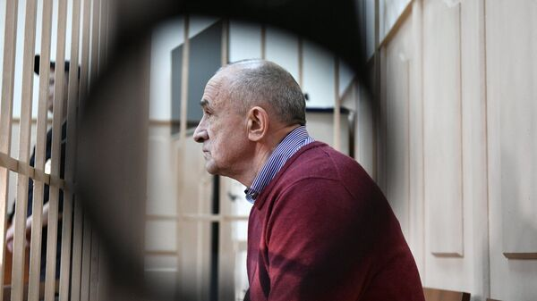 Бывший глава Удмуртии Александр Соловьев в Басманном суде