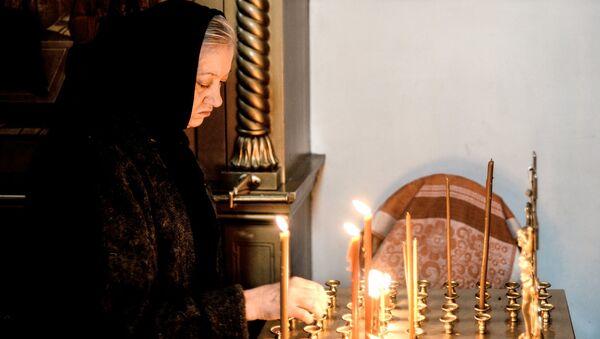 Монахиня Варлаамо-Хутынского Спасо-Преображенского монастыря