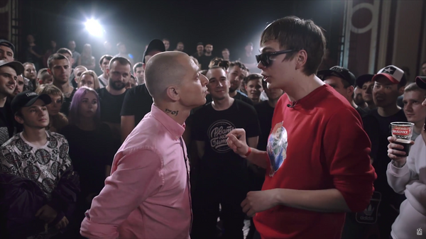 Баттл Oxxxymiron против Гнойного