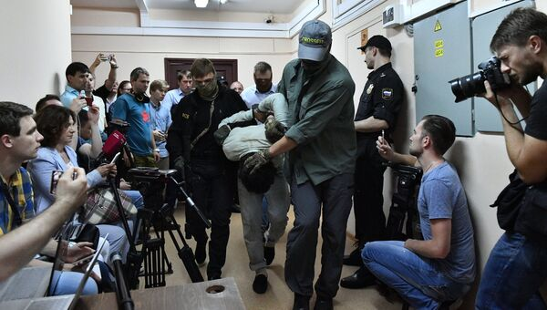 Подозреваемые в подготовке взрывов в Москве доставлены в Лефортовский суд