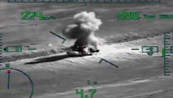 Совместная спецоперация российских и сирийских военных по штурму Эль-Кдера